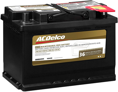 ACDelco 48AGM Professional AGM Automotive review