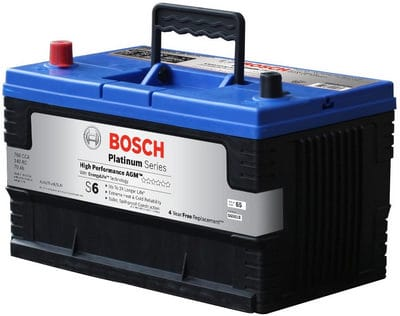 Bosch S6551B S6 Flat Plate AGM Battery review