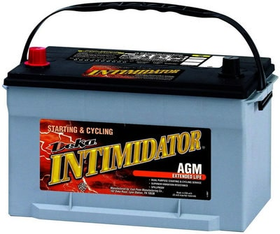 Deka 9A65 AGM Intimidator Battery review