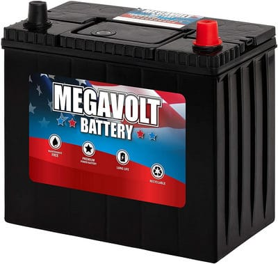 Megavolt Lead Acid Flooded Car Battery BCI 51R, 12V 55AH CCA500 CA525 (51R-60-500) review