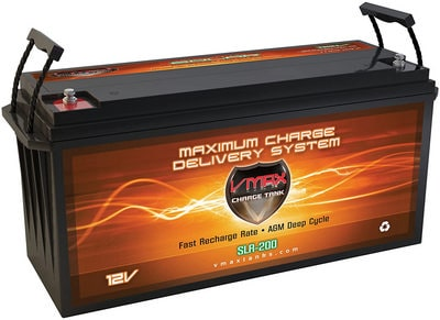 VMAX SLR200 2.66kWh 12V 200Ah AGM Group 4D Deep Cycle 12 Volt Sealed Battery review